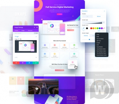 DivI Theme v4.0.2-WordPress通用模板